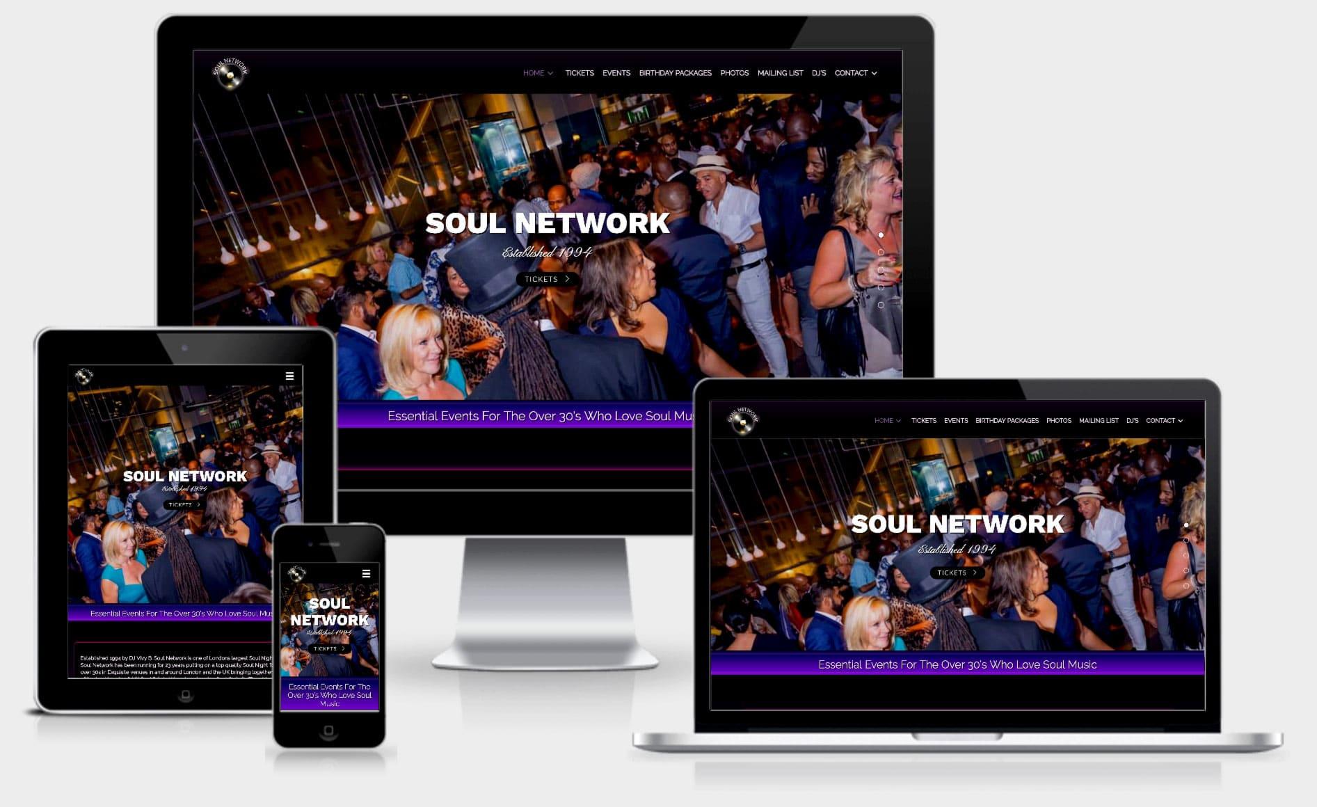 Soul-network-mpower-webdesign-template