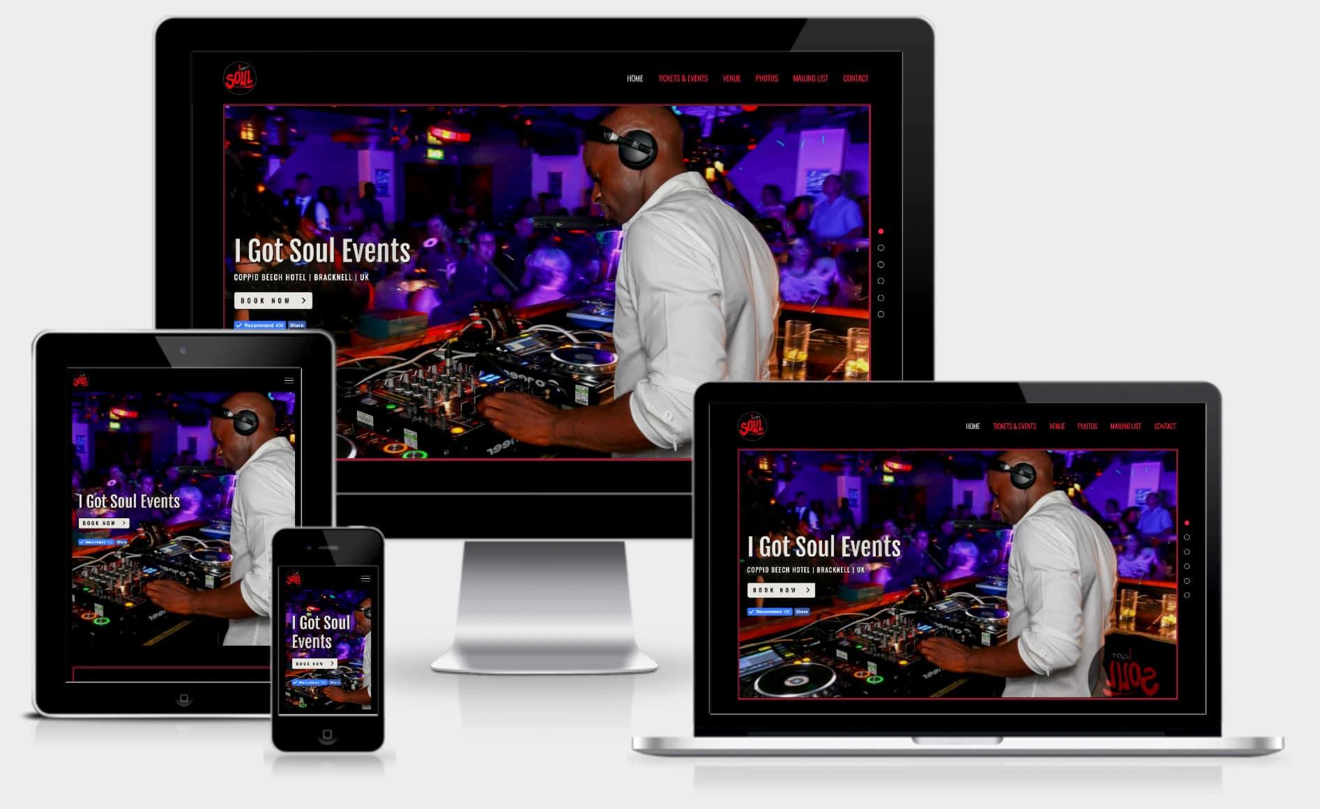 i-got-soul-events-mpower-webdesign-template