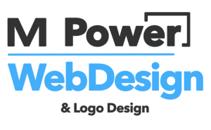 m power web design logo